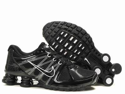 Shox Nike Shox Agent Black White Shoes [Nike Shox Agent - A sculpted Nike  Shox top plate distributed impact pressure more evenly across the heel and  added ...