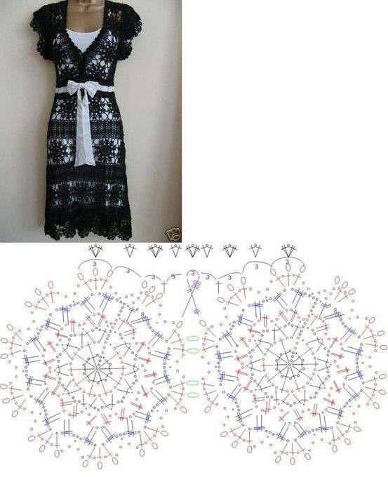 375 best free pattern skirts dresses crochet images on pinterest crochet diagram for this beautiful summer dress not sure i have time to make it but sure is pretty ccuart Images