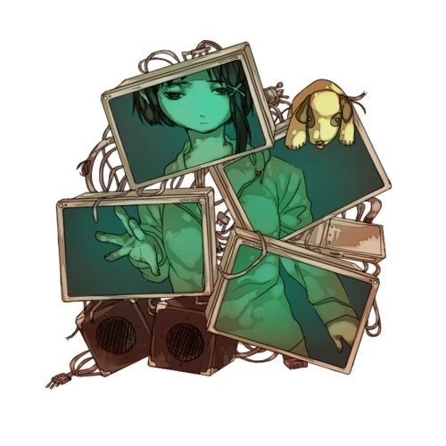 lain serial experiments <3