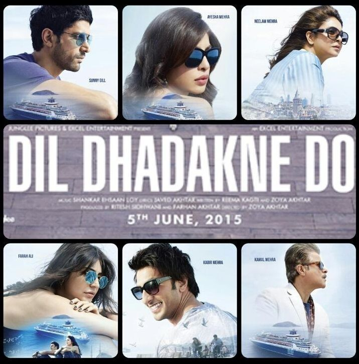 Dil Dhadakne Do HD Movie 2015 Torrent Download
