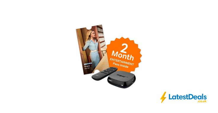 NOW TV Box with 2 Month Entertainment Pass & Sky Store Voucher, £12.49 at Currys PC World