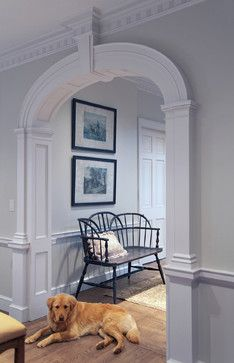COLONIAL DESIGN.: Wall Colors, Ideas, American Revolution, Traditional Family Rooms, Traditional Families Room, Declaration Of Independence, House, Trim Work, Work Ethical