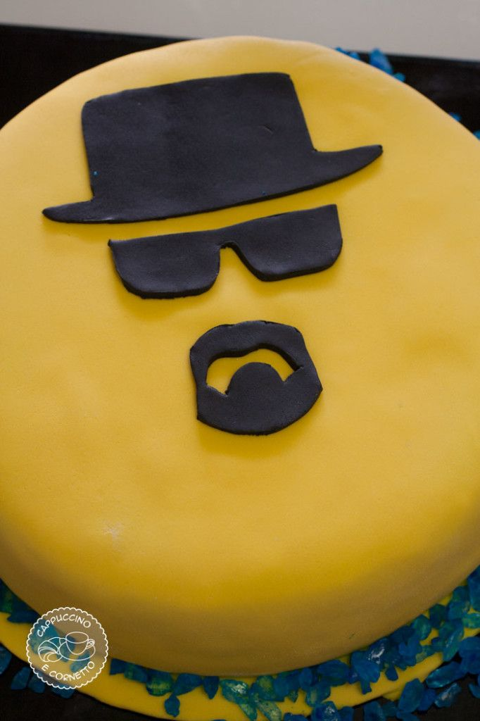Breaking Bad cake- heinsenberg