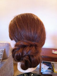 MakeUp.Etc: Easy Updo Tutorial: Messy Side Bun (Good for thick hair!)