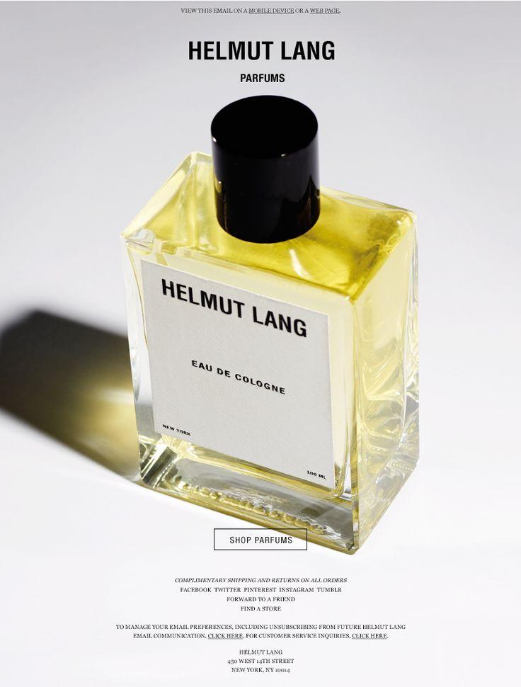 Helmut Lang Parfums