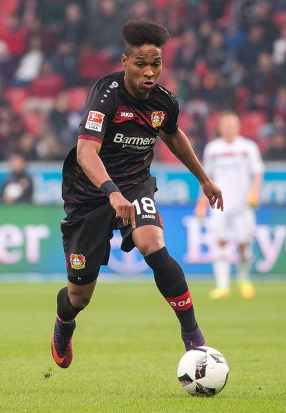 Wendell of Leverkusen in action during the Bundesliga match between Bayer 04 Leverkusen and SV Darmstadt 98 at BayArena on November 5, 2016 in Leverkusen, Germany.