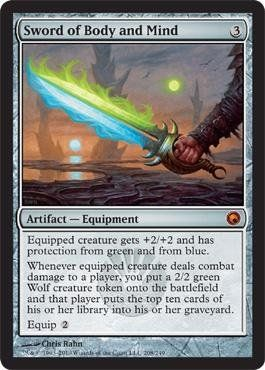 Magic: the Gathering - Sword of Body and Mind - Scars of Mirrodin by Wizards of…