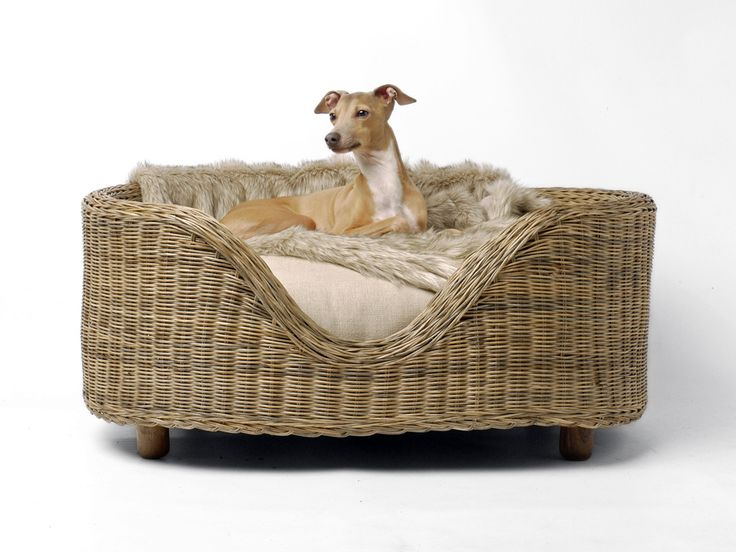 36 best wicker & rattan dog beds images on pinterest