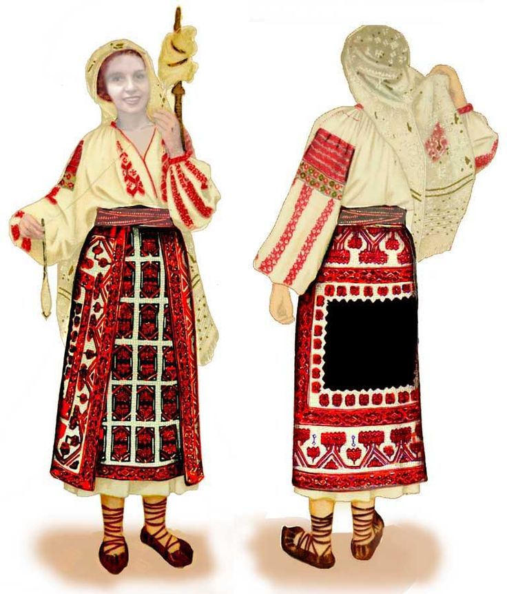 14 best images about Romanian traditional clothing on ...