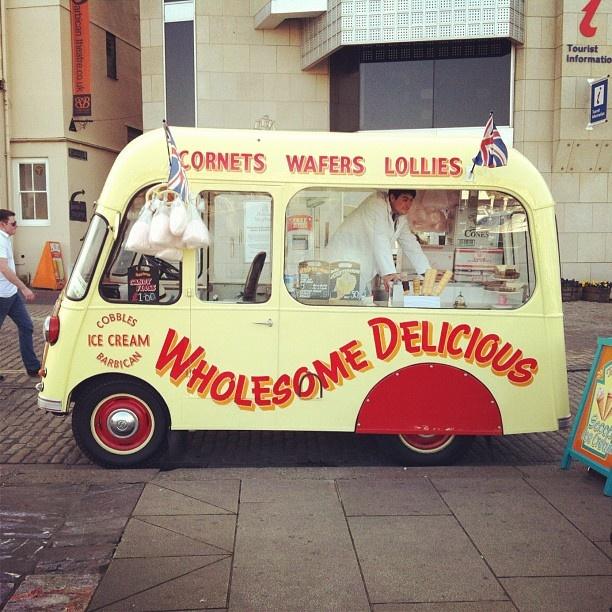 25 Best Ice Cream Trucks Converted Buses Camper Vans And