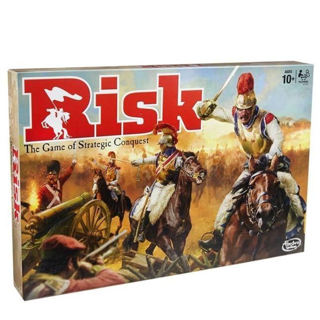 Rizikó - stratégiai társasjáték 10 éves kortól