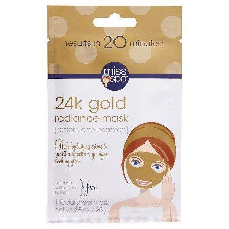 The 24K gold infused into this mask sure sounds luxe, but you'll be pleasantly surprised to find its price tag is a mere $4.