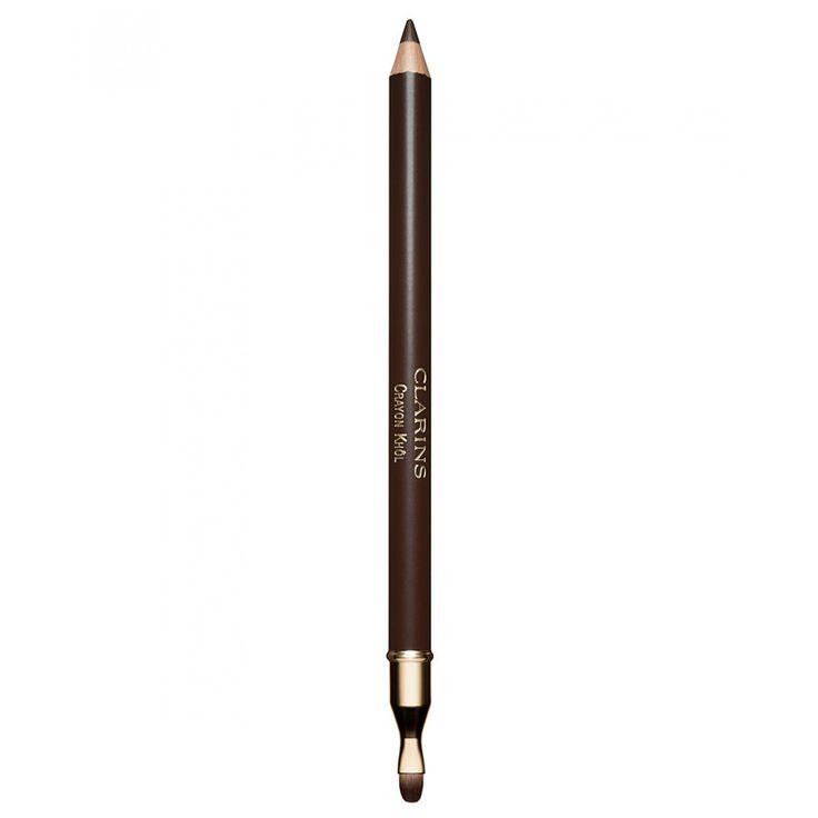Clarins lápiz delineador para realzar el maquillaje de los ojos Crayon Yeux se utiliza como eyeliner o khol dentro del ojo o difuminado sobre el párpado gracias al aplicador de espuma. ¡Indispensable para intensificar la mirada!