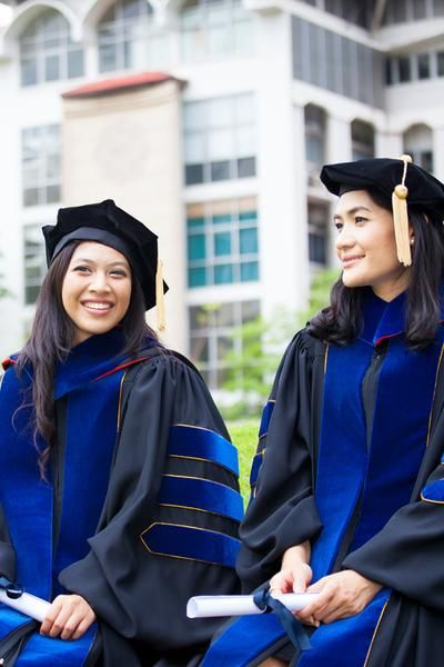 Walk in style with PhinisheD Gown - finest quality Doctoral Regalia set