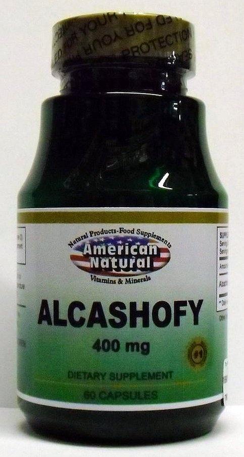 Alcashofy (Artichoke) 400 mg 60 Capsules by American NaturalAlcashofi Artichokes, Artichokes Alcachofas, Artichokes Leaves