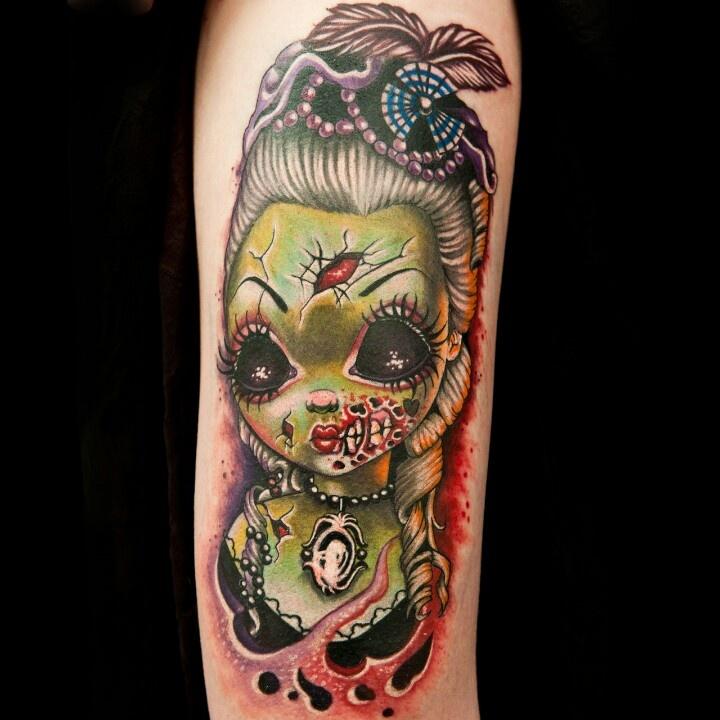 Tatu Baby Zombie Girl