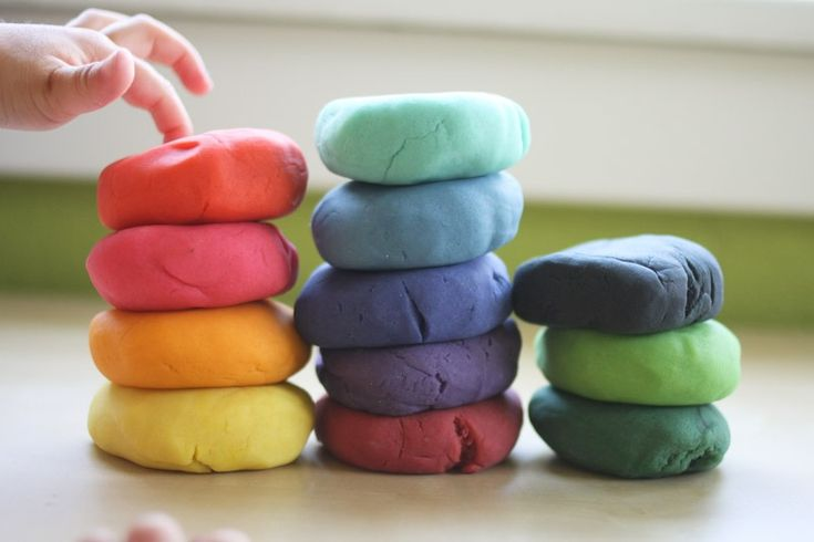 Easy Homemade Play Dough, Finger Paint, and More