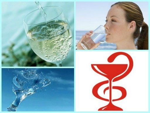Применение активированной воды в лечебных целях