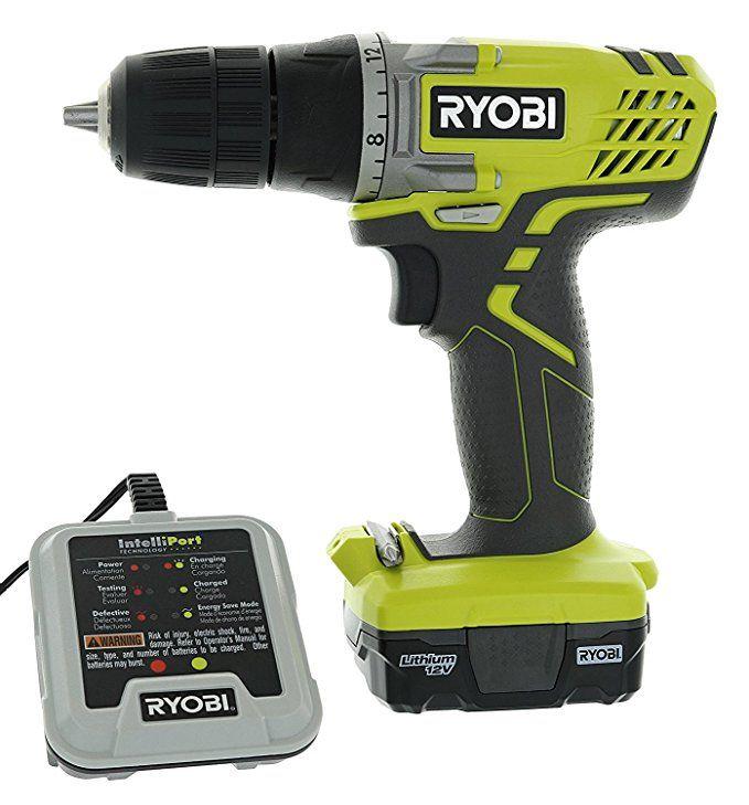 Ryobi Hjp004l 3 8 12 Volt Drill Driver Kit 3 Piece Bundle Including 1 X Hjp003 Drill Driver 1 X Cb121l 12 Volt Battery 1 X 140157001 12 V Battery Charg Drill Driver Cordless Drill Reviews Ryobi