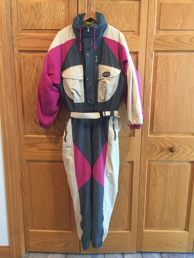 Anoralp Mens Ski SALE One-Piece Suit Size 40 USA Snow Powder France 50 M L #Anoralp
