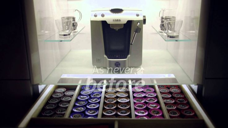 Magnet Kitchens New Product Innovations - Coffee Unit #beautybuiltin #magnet #kitchen #coffee