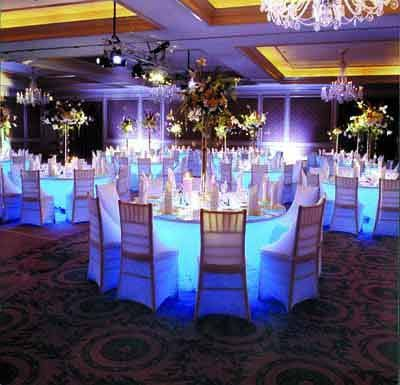 wedding table lighting. events decorator is highly expert in event management like wedding eventscorporate eventsbirthday table lightingevent lighting