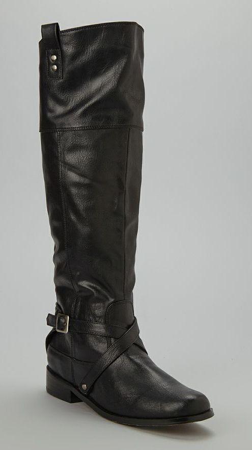 Black Belview Riding Boot