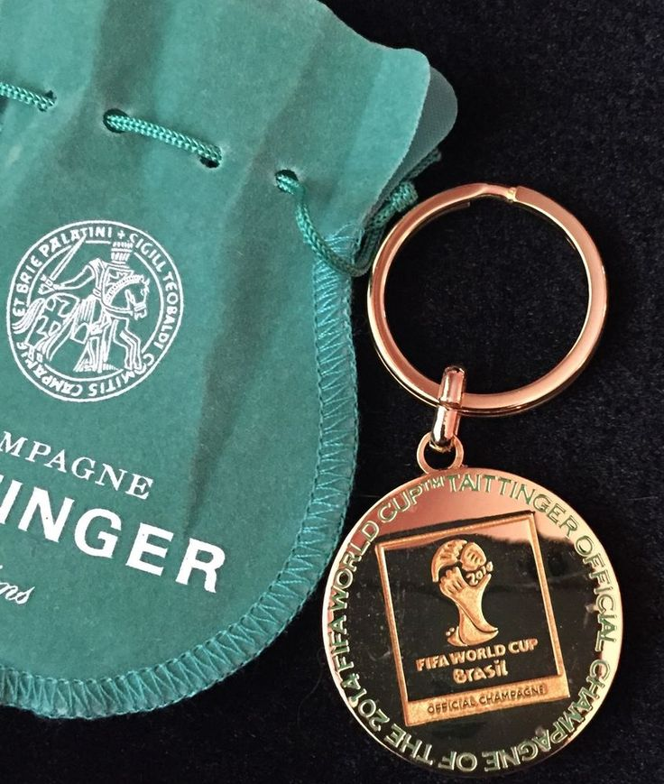 TAITTINGER Champagne BRAZIL  FIFA WORLD CUP 2014 KEY RING BN SPECIAL EDITION    eBay