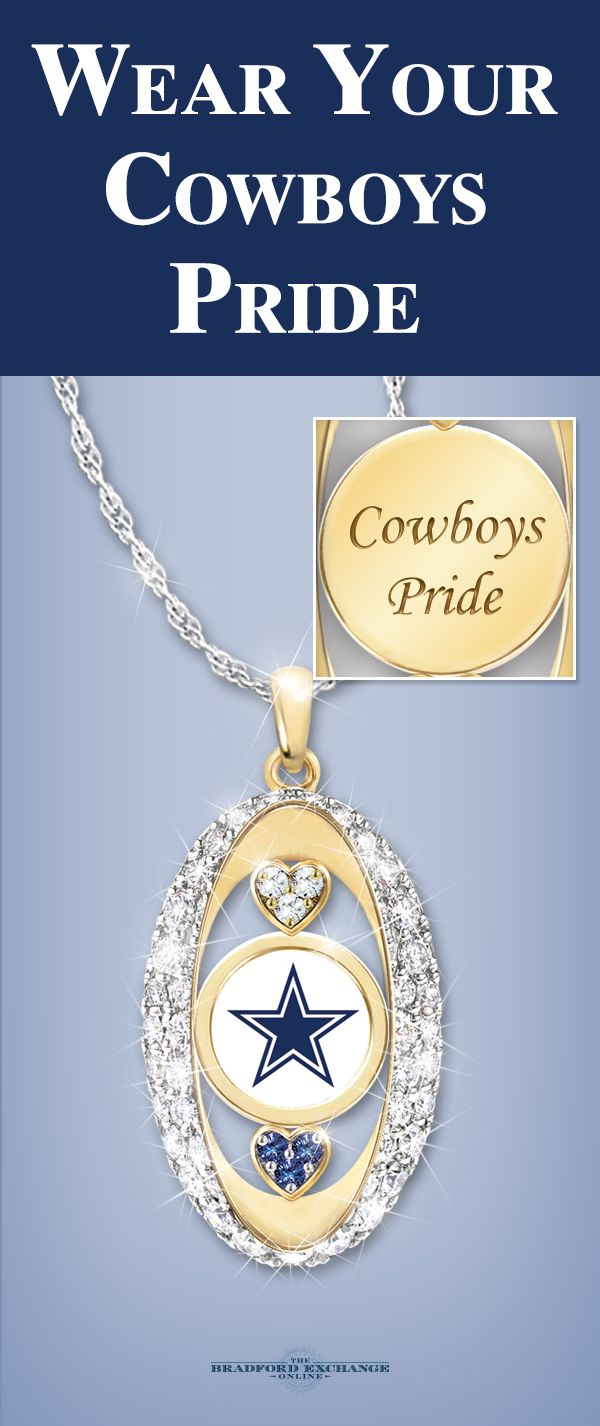 39 best dallas cowboys images on pinterest cowboy baby football for the love of the game cowboys pendant necklace