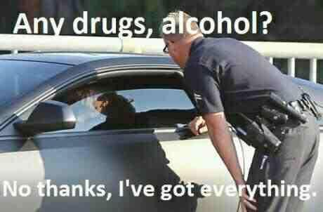 Any drogs, alcohol?