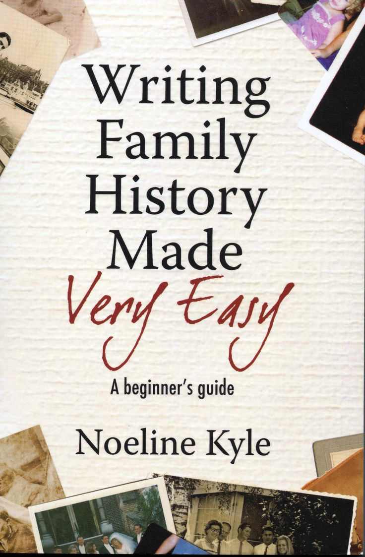 writing family history Who are the most interesting characters on your family tree would you like to write their stories to share with other family members, or with a wider audience.
