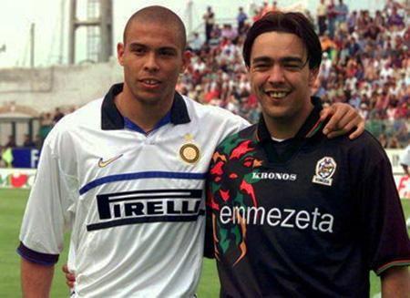 Ronaldo, and Alvaro Recoba, 1999.
