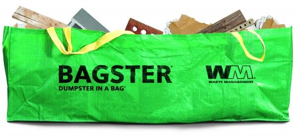 The Bagster is a highly durable, woven bag that can handle up to 3,300 pounds of debris. It's big enough to hold full sheets of plywood, doors and even a bathtub. It's a convenient choice for smaller home improvement projects as the bag is larger than a garbage can but smaller than a dumpster. And with more people choosing to DIY their home projects to save money, the Bagster offers an affordable option over making trips to the dump. Simply purchase the Bagster at your local home improvement…