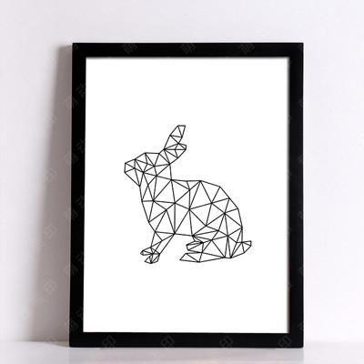 Fine Art Rabbit Canvas Print