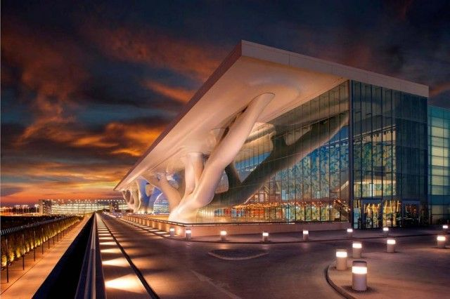 Qatar National Convention Centre in Doha