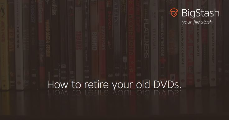 "How to retire your old DVDs.  ""[...] Optical storage in the form of DVDs/CDs has become something we still have at home only for backwards compatibility, for the rare occasions that someone will bring a DVD, or when we want to watch something that was put on DVD long ago. The bottom line: DVD is a dying medium, at least for me. [...]"" http://blog.bigstash.co/2014/07/15/retiring-my-old-dvds/"