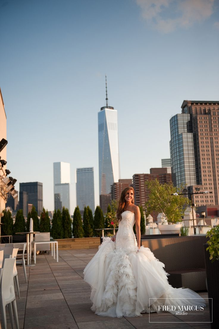 Nyc Wedding At Tribeca 360 With Incfredible Views Photo Fredmarcus Nicole