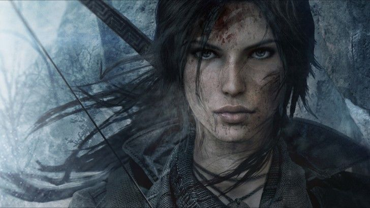 My gaming pin of the day. Lara Croft HD Rise of the Tomb Raider 2880x1620
