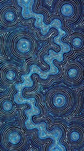 Spectacular-Aboriginal-Art-by-Tammy-Matthews-66cm-x-113cm