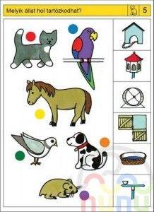 Animal Homes Worksheets For Kindergarten