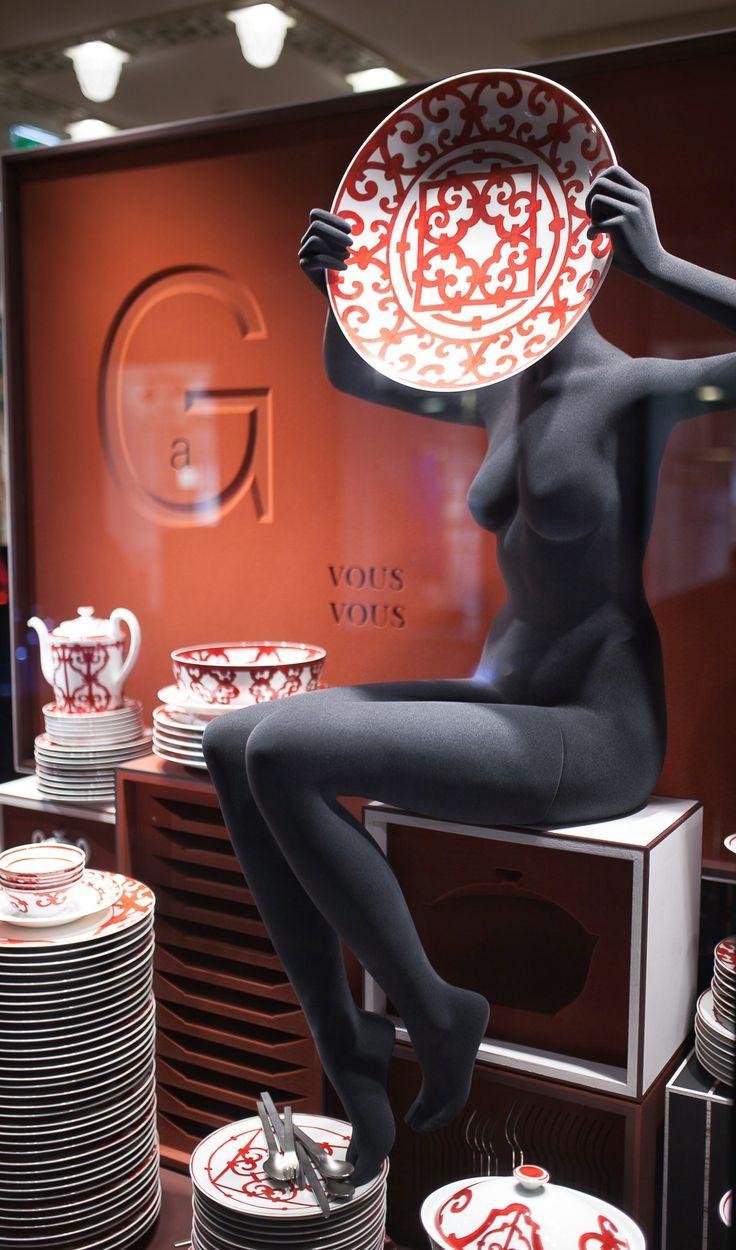 Our mannequins for Hermes shop windows || Nos mannequins pour les vitrines Hermes