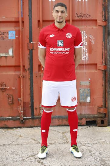 Mainz 05 16-17 Home Kit Jersey /c Germany