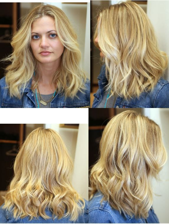 Collarbone Length Hair With Slight Wave By Anh Co Tran