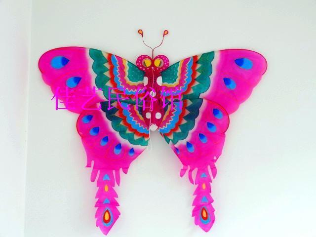 chinese traditionele ambachten met de hand geschilderde vlinder vliegers voor kinderen speelgoed voor