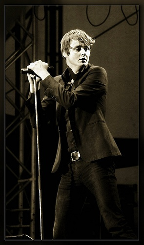 Tom Chaplin - lead vocalist for the band Keane...an incredible talent!