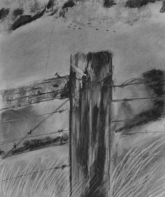 Fence Post 4 by SoenkeFineArt on Etsy