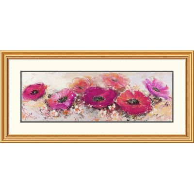 Global Gallery 'Fiori di maggio' by Luigi Florio Framed Painting Print
