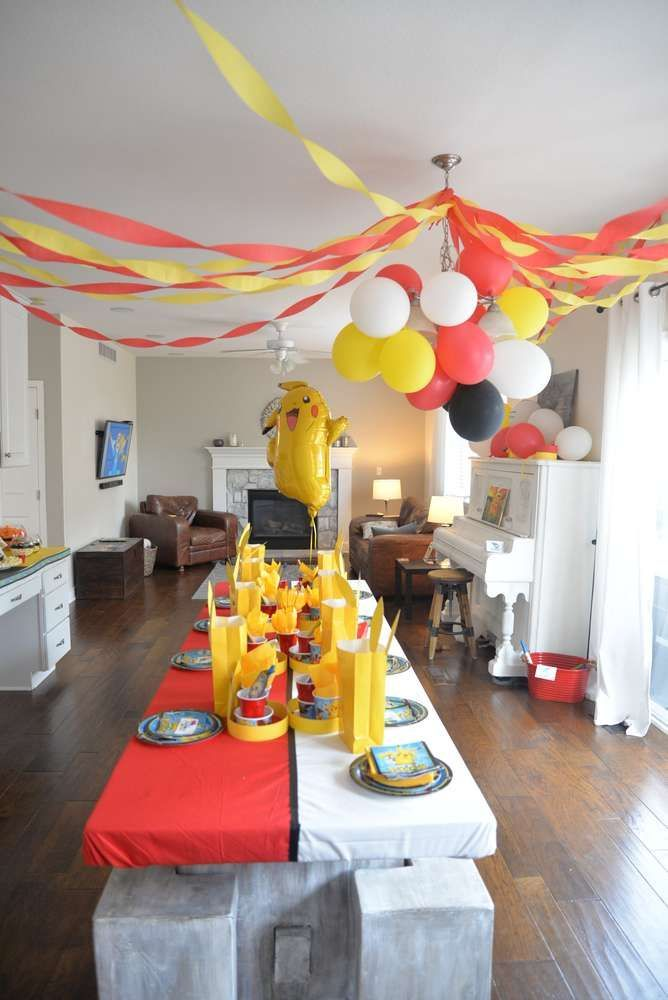 Pokemon Birthday Party Ideas | Photo 2 of 21