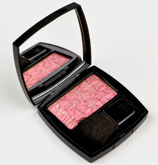 Chanel Tweed Fuchsia Tissages de Chanel Blush Duo Review, Photos, Swatches