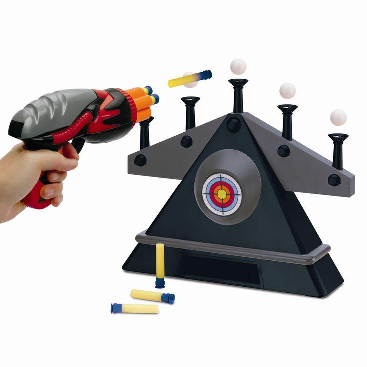 The Hovering Target Shooting Game - Hammacher Schlemmer